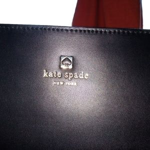 Large Kate Spade tote in black